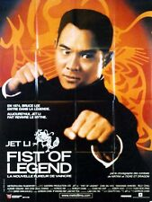 Affiche 120x160cm FIST OF LEGEND La Nouvelle Fureur De Vaincre (2001) Jet Li BE