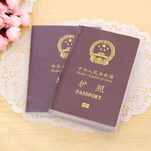Helpful Design Passport Cover Holder ID Card Travel Protector Organizer Case