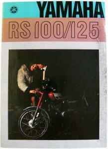 YAMAHA-RS100-125-Original-Motorcycles-Sales-Brochure-1974