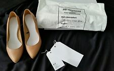 Maison Martin Margiela for H&M Tan leather heels NEW