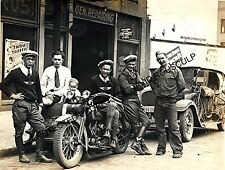LIma, Ohio Vintage Harley Picture