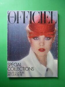 L-039-Officiel-Paris-Mag-650-Mars-1979-March-Collections-Haute-Couture-Pret-Porter