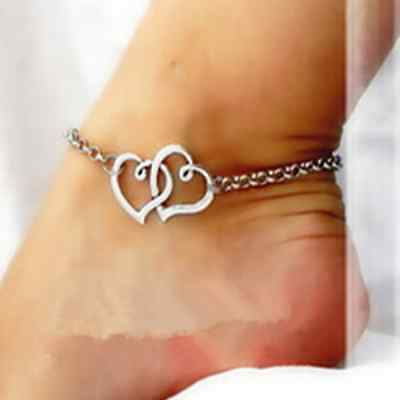 Fashion Womens Gold Silver Anklet Sexy Ankle Chain Bracelet Foot Sandal Jewelry