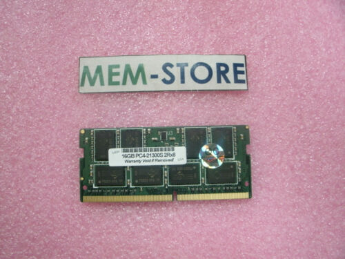 16GB DDR4 2666MHz SODIMM  Memory for Lenovo Gen 8 Intel i7-8650U notebooks