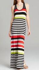 Vince Camuto Ethnic Multi Stripe Racerback Knit Maxi Dress Sz XS $119