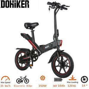 DOHIKER vélo Ebike Vélo Électrique Pliant, 36V 10Ah E-Bike 25km/h,350W MAX 120kg
