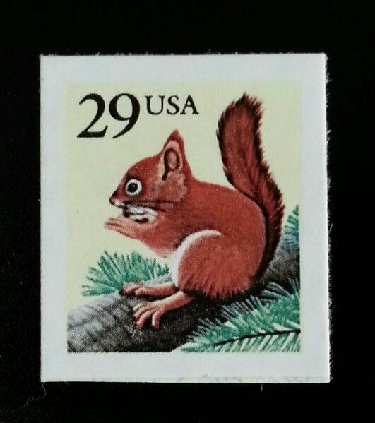 1993 29c Red Squirrel Scott 2489 Mint F/VF NH