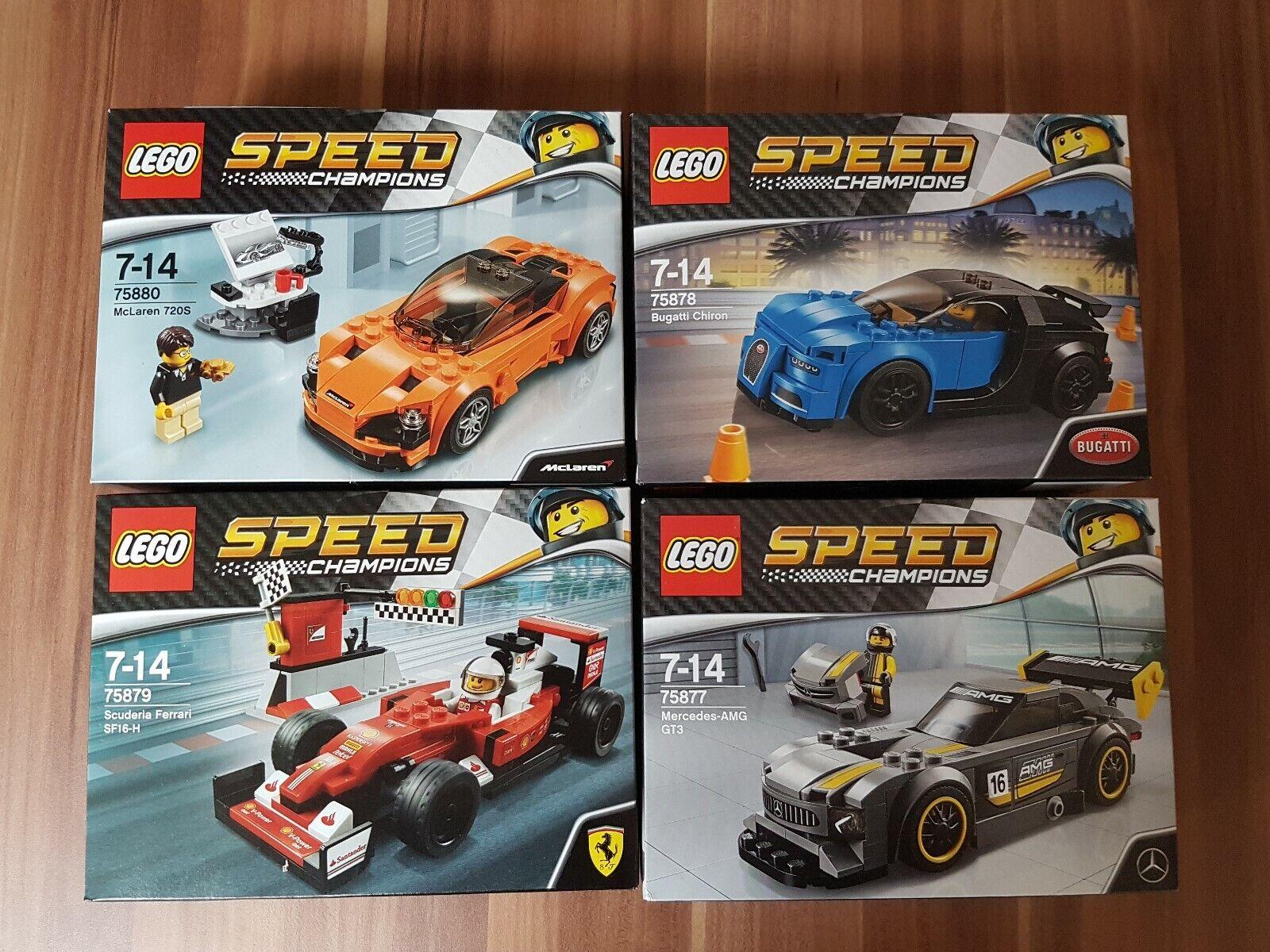 LEGO Speed Champions 75877 75878 75879 75880 neu in OVP