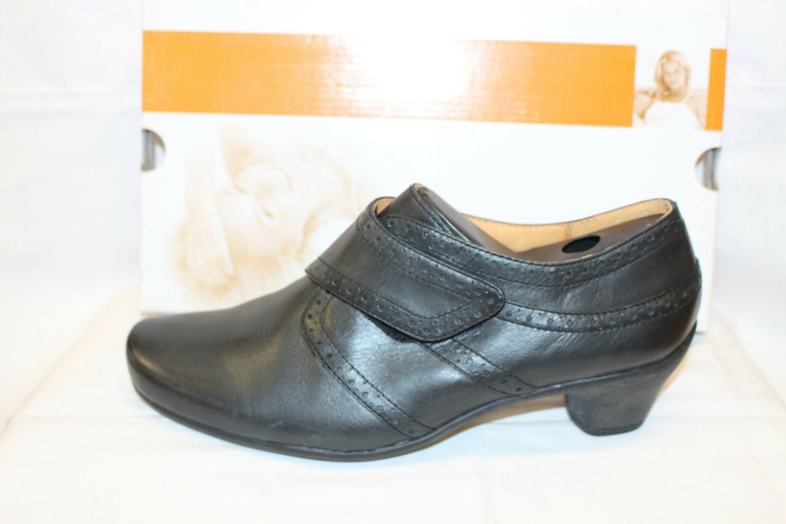 LADIES SHOES/FOOTWEAR - Theresia M  Judy black court shoe