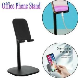 Portable-Mobile-Phone-Desktop-Stand-Holder-Desk-Table-Mount-For-IPhone-Tablet-UK
