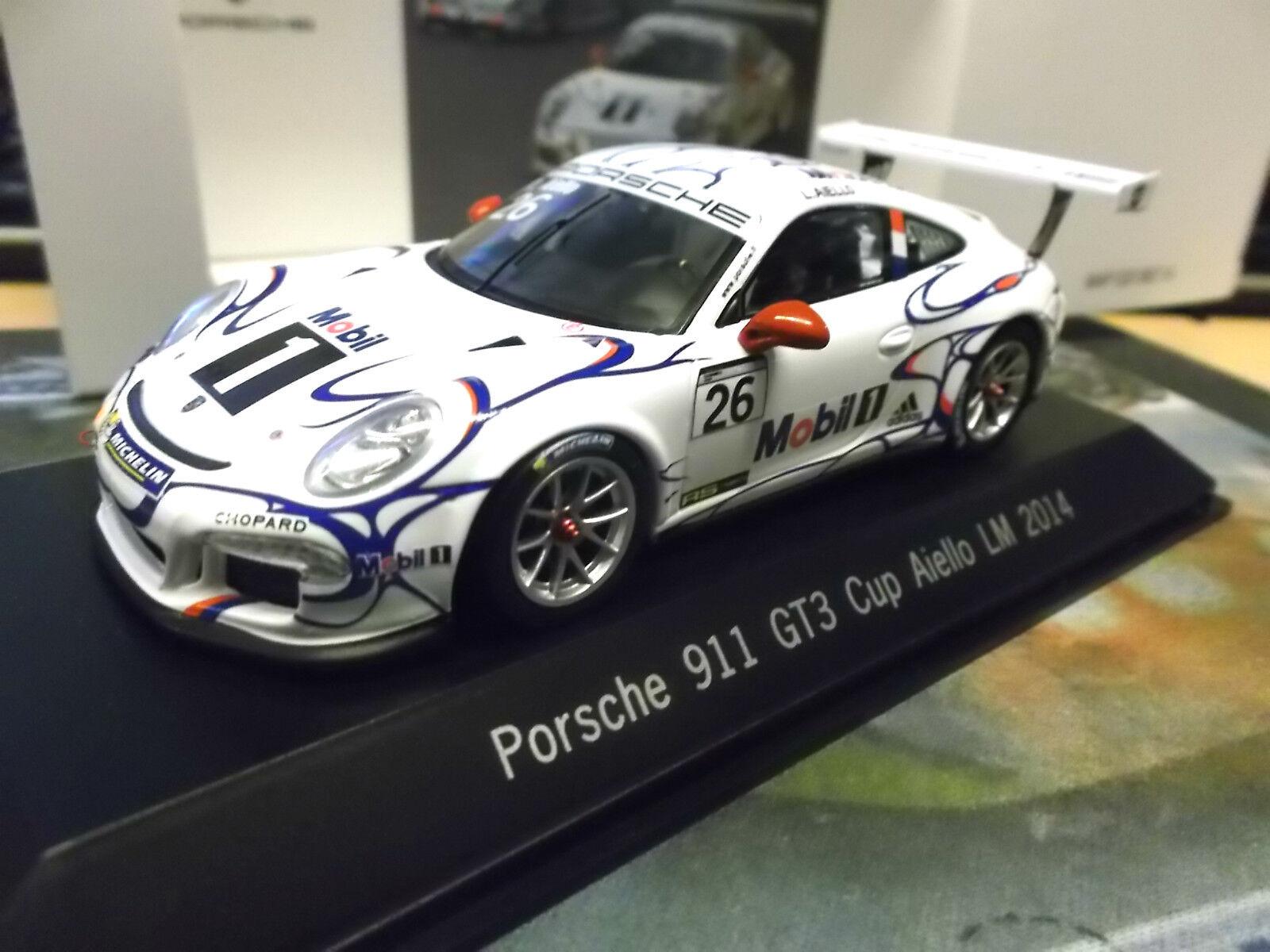 Porsche 911 991 gt3 CUP LE MANS 2014 #26 Aiello mobile 1 Adidas réserve spark 1:43 | Supérieurs Performances  | Digne  | Authentique  | Techniques Modernes