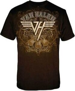 Van-Halen-Rock-And-Roll-Music-Band-Eddie-David-Lee-Roth-Mens-T-Tee-Shirt-VH198