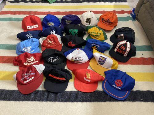 Lot Of Vintage SnapBack Trucker Hats Swingster Mad