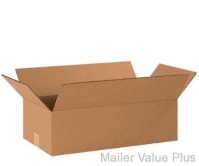"25ea 10/""x 6/"" x 6/"" Cardboard Packing Mailing Shipping Corrugated Box Cartons"