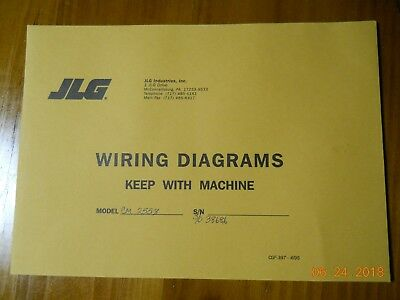 jlg wiring diagrams model cm2558 never used in a shop setting! free  shipping!!! | ebay  ebay