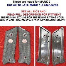 MK2 NEW Genuine RUGER BLACK Grips Silver Eagle Red Mark MK I II 1 2 MKII MKII
