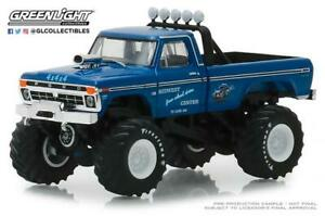 Greenlight-1-64-Kings-of-Crunch-1974-Ford-F-250-Midwest-4-Wheels-Drive-Center