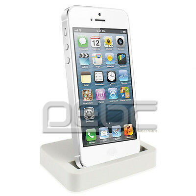 For Apple iPhone 5 5S 5C 6 6 Plus Charger Docking Station Cradle Charging Dock #
