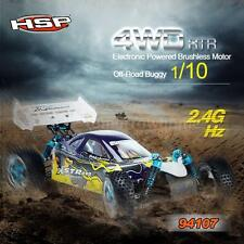 HSP 94107PRO 1/10 4WD Electronic Brushless Motor RTR Off-Road Buggy RC Car