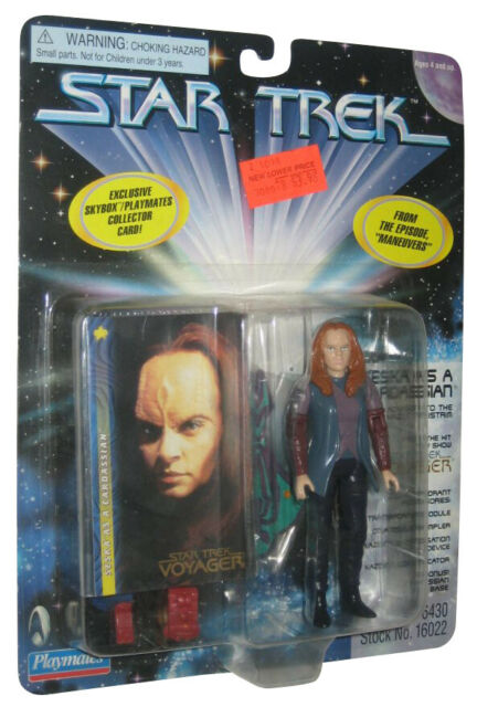 Star Trek Series 4 Seska as Cardassian Playmates Action Figure