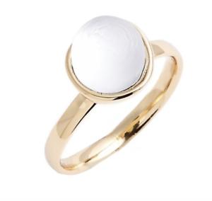 Alexis Bittar Women's White Lucite Ring Sz 5.5 0370