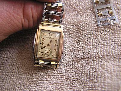 Antique Art Deco Bulova Watch 15 Jewels 10AN