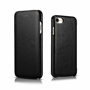 Novada-Genuine-Leather-Flip-Case-Cover-for-iPhone-8-amp-iPhone-7