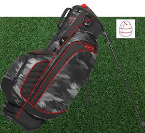 Ogio Golf 2017 Stinger Stand Carry Bag Quot Urban Camo Red