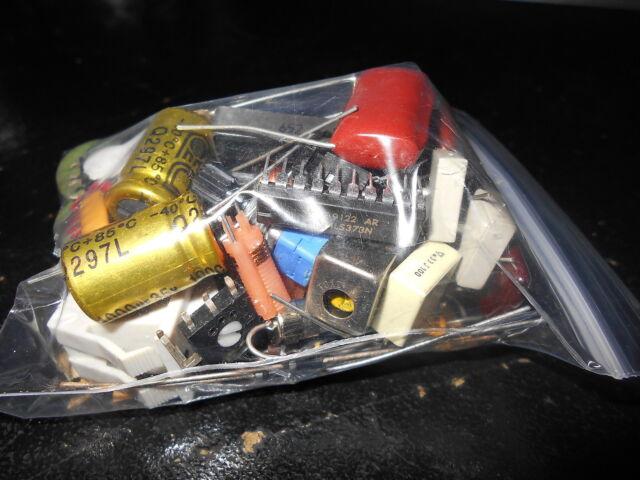 Mixed Lot of Electronic Components Grab Bag Resistors Caps Transistors and More!