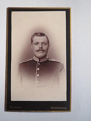 Suche Nach FlüGen Rendsburg - Soldat In Uniform - Regiment Nr. 9 / Cdv Starker Widerstand Gegen Hitze Und Starkes Tragen