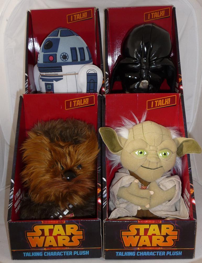 Soft toy STAR WARS 20cm Parlanti PLUSH TALKING ORIGINAL NEW Official Lucasfilm