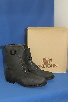 Gentile Akethon Boots Logger Elegante Boots Stivali Gr.38 Black Design In Pelle Scarpa-mostra Il Titolo Originale Brividi E Dolori