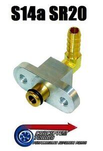 Fuel-Rail-Adaptor-for-FPR-Fuel-Pressure-Regulator-For-S14a-200SX-Kouki-SR20DET