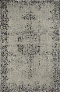 Dettagli su Tappeto salotto moderno grigio cotone acrilico tappeti classici  Sitap 200x285 cm