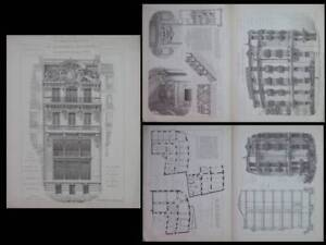 Radient Marseille, Hotel Fraissinet - 1910- Leonce Muller, Nice, Hotel Scribe, Dalmas