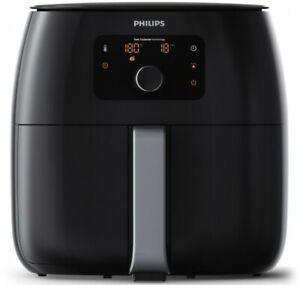 Brand-New-Philips-Twin-Turbo-Airfryer-XXL-Premium-Black-Touchscreen-HD9650-93