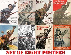 Poster-Similar-Like-WWII-Propaganda-soldier-rifle-gun-WW2-Greece-France-Italy-US