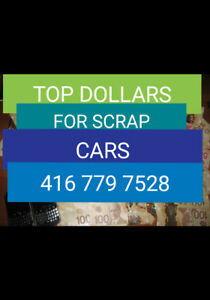 Junk Car ?? Call Us ☎️416 779 7528 [AutoWrecker-ScrapYard]