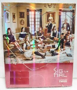 TWICE SIGNAL ( A Ver.) Official CD+ Free Gift 4th Mini Album Sealed Kpop Kstar