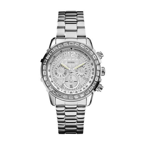 Detalles de Guess w0016l1 damenuhr fashion cronografo acero reloj mujer mejorofertarelojes