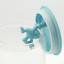 thumbnail 4 - A di Alessi Gianni Glass Jar, Blue Lid, 140 cl, AMDR06 AZ