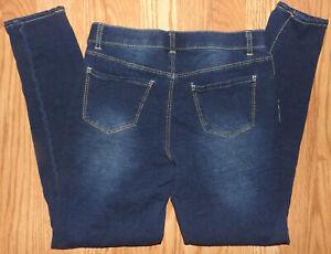 8 Jeans 14 Bleu Jordache Jeans Rise Confortable Taille Jeans Slim Soft Comfy Girls Blue Stretchy Clair Dark pwqgXgI