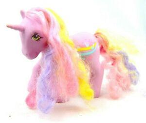 RARE-My-Little-Pony-Vintage-G1-Generation-1-Streaky-Musical-Rainbow-Curl-Unicorn