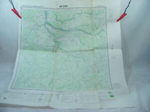 AM DAM Abéché TCHAD 1958 1:200.000 Ancienne carte d'Afrique A.E.F & Cameroun IGN