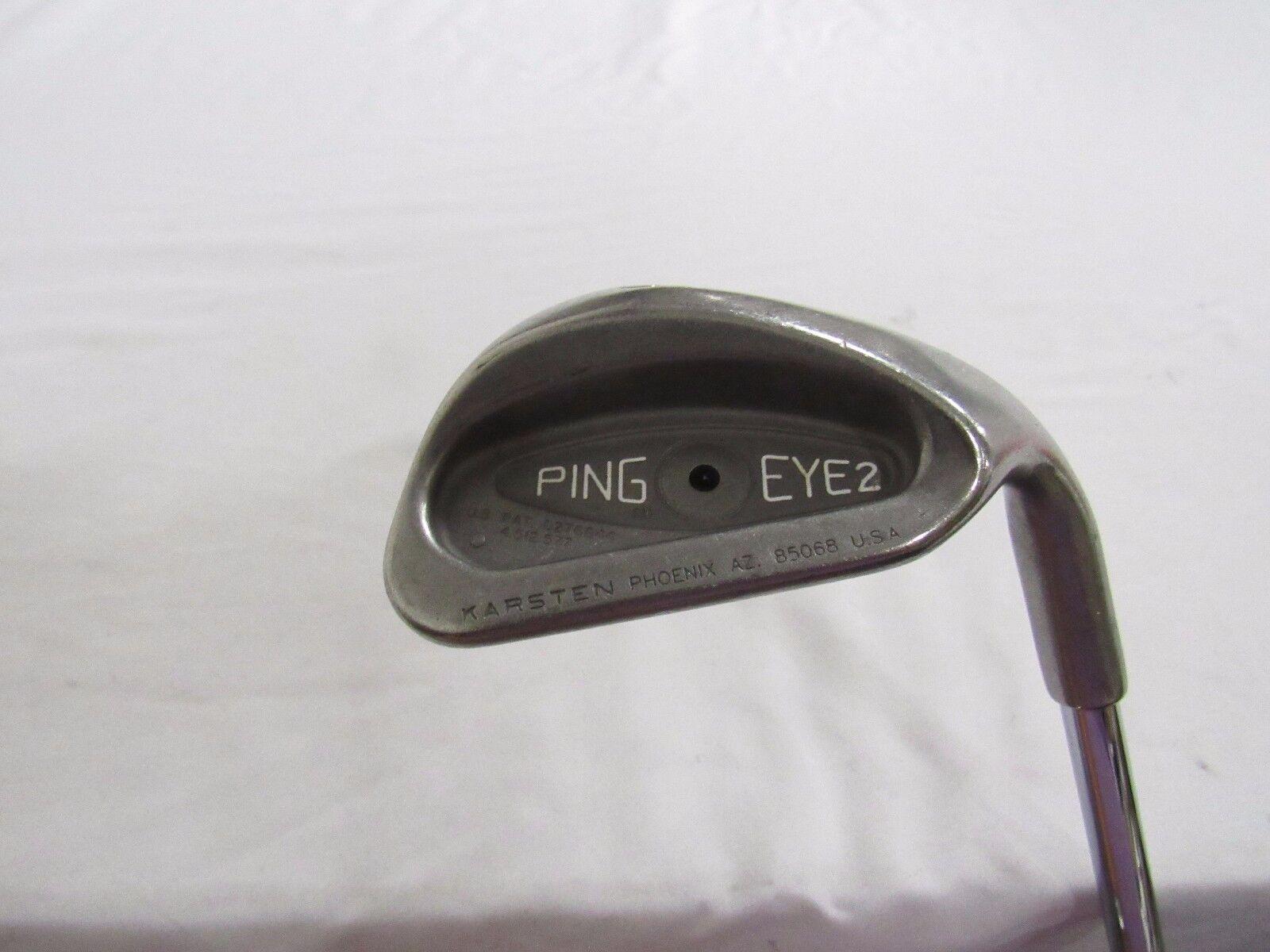 Ping Eye 2 (punto Negro) SW Sand Wedge dinámico livianos (s) De Acero Flex Usado Rh