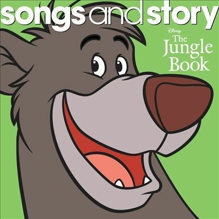 The Jungle Book, Disney Songs & Story, New Audio CD