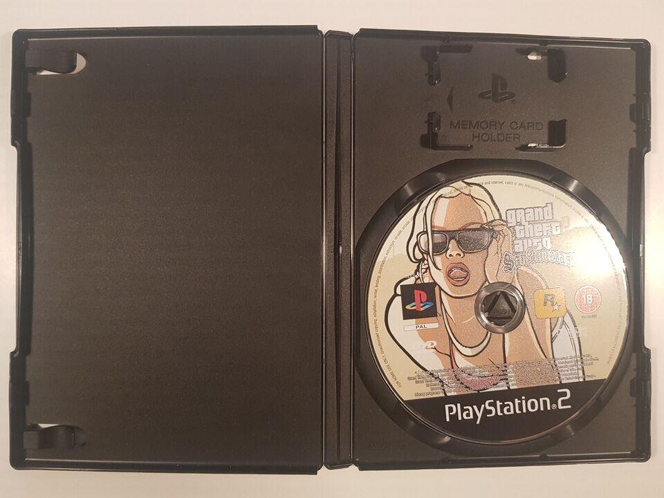 GTA San Andreas, PS2
