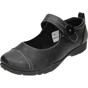 00ddd3df24fb Dr Keller Mary Jane Casual Black Flat Rip Tape Slip On Loafer Comfy ...