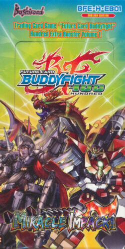 Future Card BUDDYFIGHT BFE-H-EB01 Miracle Impack Booster Box 15ct SEALED!!^