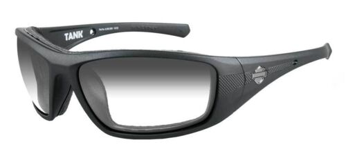 Harley Davidson Tank Sun Glasses LA Grey/Matt Black